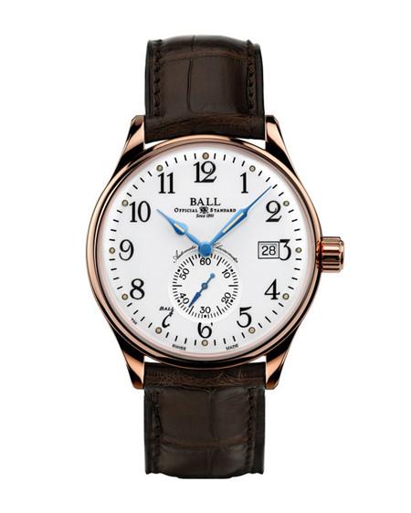 波尔表推出全新铁路长官系列标准时间型号腕表