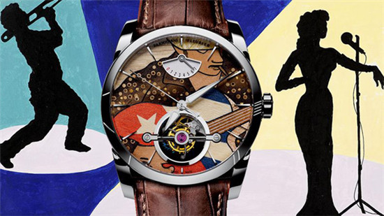 帕玛强尼推出全新「Tonda Mambo」陀飞轮腕表
