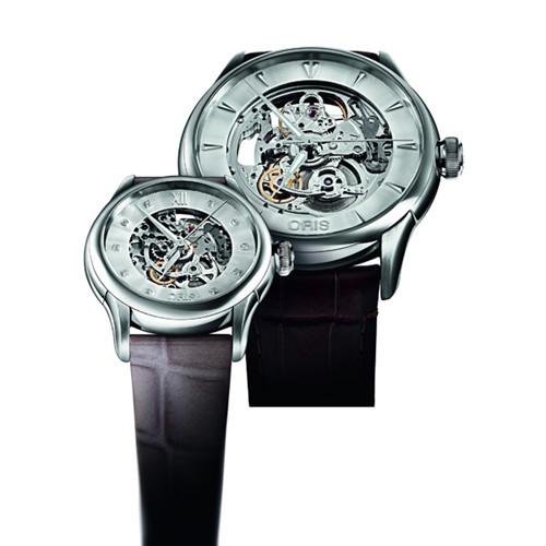 Oris(豪利时)为天下恋人倾情呈献两对时尚腕表