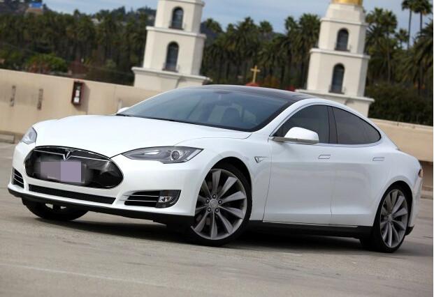 特斯拉电动汽车被纳入杭州市新能源汽车范围之内高清图片