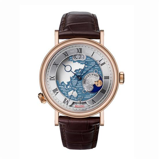 Breguet(宝玑表)推出经典系列「北京时」纪念款腕表