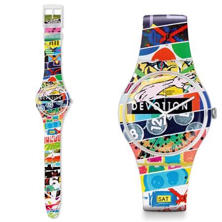 斯沃琪推出新款斯沃琪俱乐部特别腕表