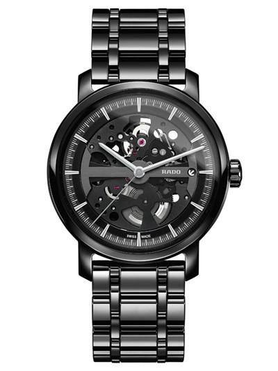 雷达表推出「DiaMaster」钻霸系列镂空限量版腕表