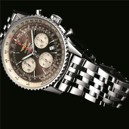 Breitling(百年灵)推出航空计时01腕表泛美青铜版
