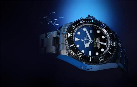 劳力士发布D-Blue色表面全新「Deepsea」腕表