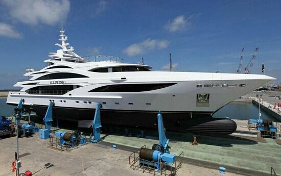 贝尼蒂全新「Illusion I」豪华游艇将亮相摩纳哥