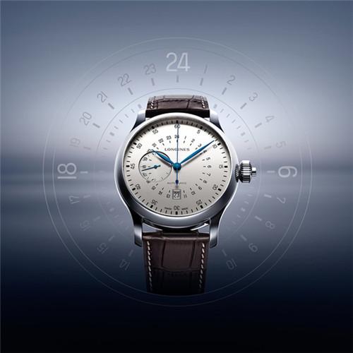 浪琴表推出经典复刻系列24小时单按钮计时秒表