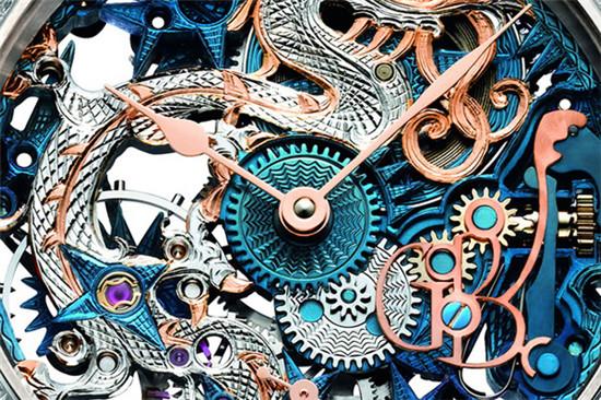 Grieb & Benzinger名表品牌推出特别版「蓝之龙」腕表