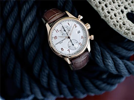康斯登名表品牌推出「Runabout」赛艇系列计时秒表