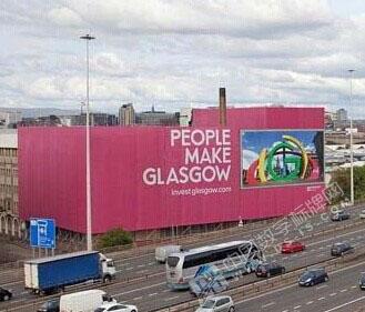 苏格兰户外数字标牌站点 成为众人瞩目的焦点