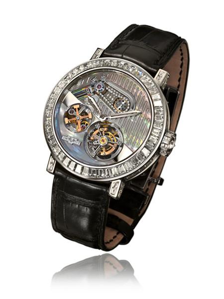 DeWitt(迪菲伦)推出全新恒定动力陀飞轮珠宝腕表