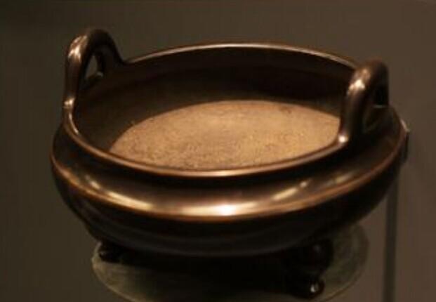 宣德炉是_图纸_价格_v图纸-图鉴器古铜-款识顶斜金屋图片