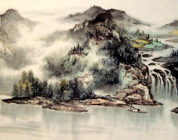 中国山水画_中国山水画简介_中国山水画的意境_中国画