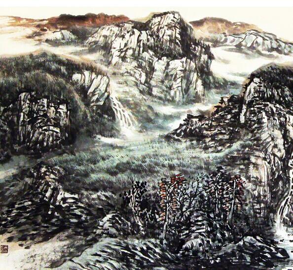 中国山水画发展史