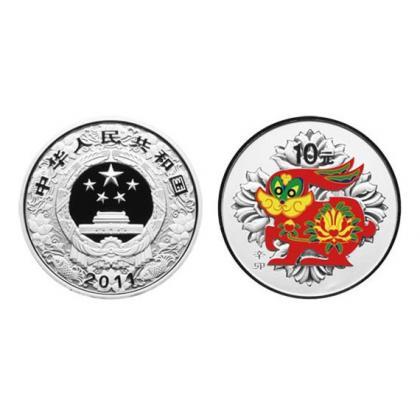 彩银纪念币概述