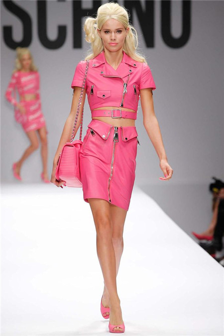 Moschino米兰时装周发布2015春夏系列高级成衣