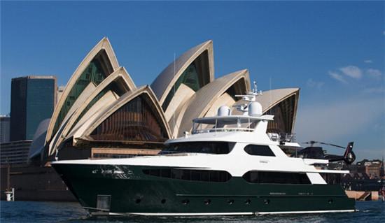 澳大利亚Ophelia豪华游艇 8月于悉尼超级游艇展面世