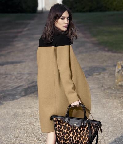 珑骧(Longchamp)2014秋冬系列包包广告大片曝光