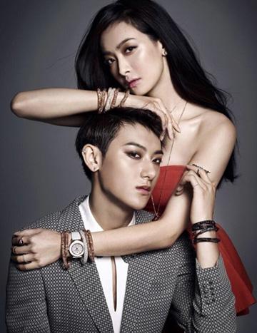 宋茜exo拍摄施华洛世奇珠宝首饰大片 高清图片