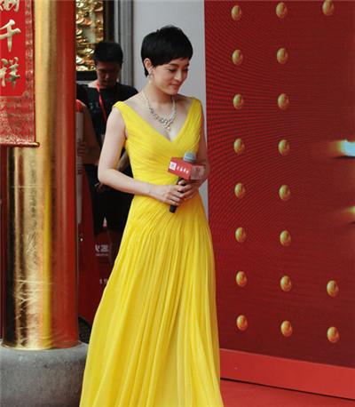 孙俪携手老庙黄金珠宝品牌于上海开设旗舰店