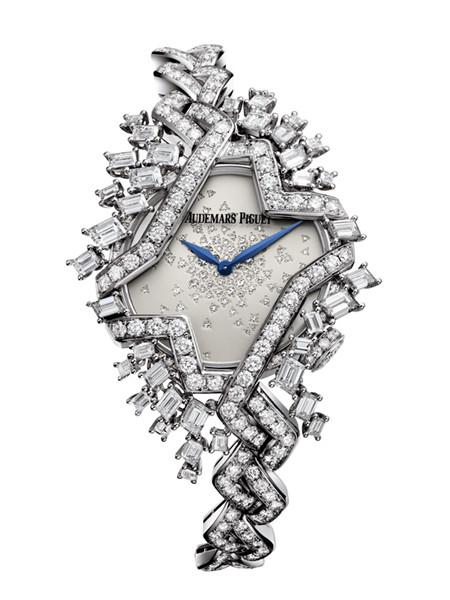 爱彼表推出全新女装系列高级珠宝腕表