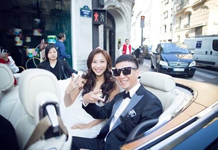 孙红雷法国奢华大婚视频首次曝光 豪车钻戒给她最好的