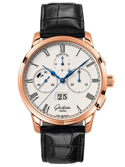 格拉苏蒂推出全新原创议员大日历计时腕表