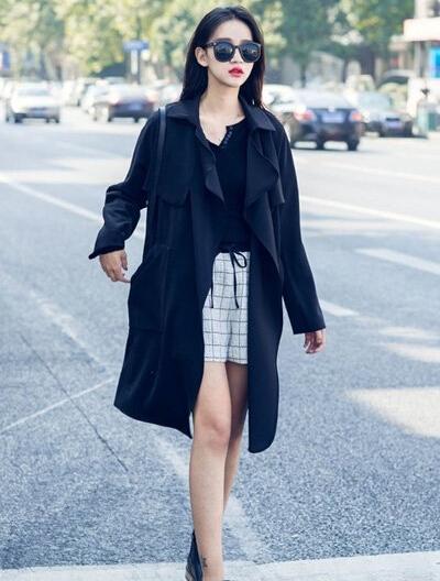 时尚服装_秋季女生服装搭配:外套怎么混搭更时尚?