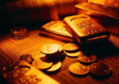 黄金价格整体下破 速度和幅度都较大