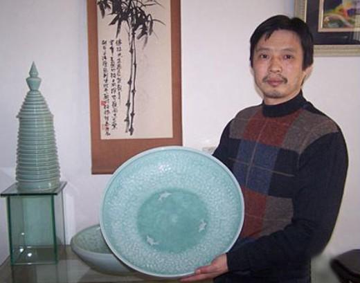 龙泉青瓷大师