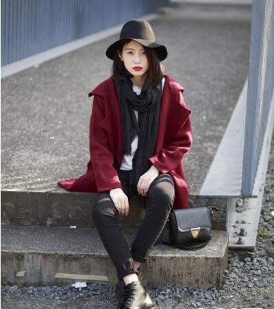 初秋服装搭配技巧:外套怎么搭配裤子显瘦显高?