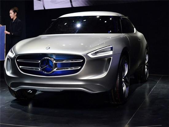 奔驰全新概念车G-Code全球**造型设计极具科技感