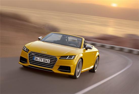 Audi于欧洲推出「TTS Roadster」高性能版车型