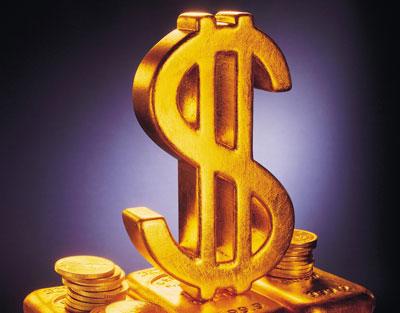 黄金价格次再破低点 下方形成无底洞
