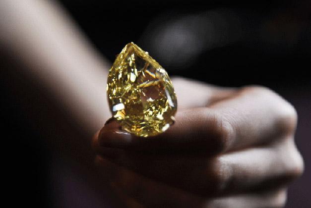 什么是黄钻石_黄钻石价格_世界上最大的黄钻石