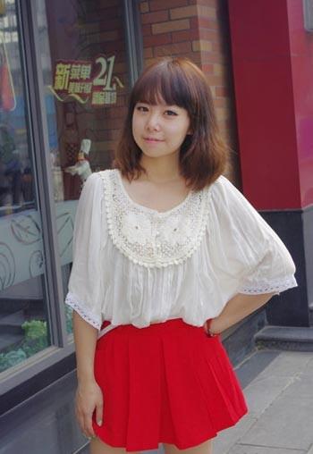 微胖女孩夏天穿衣搭配技巧图片