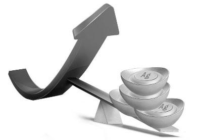 现货白银抬头向上 银价震荡趋势
