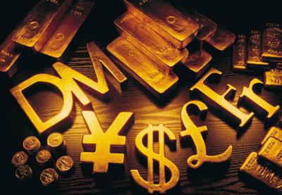 欧元兑美元上涨 纸黄金小幅下跌