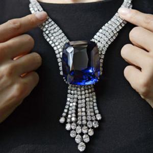 佳士得瑰丽珠宝专场 一枚蓝宝石以1.08亿成交