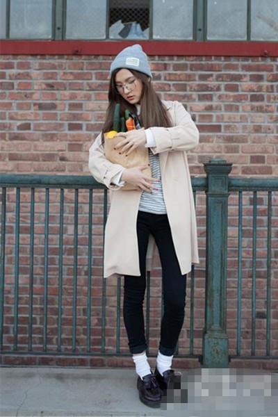 保暖显高穿衣搭配技巧指南 小袜子有大用途