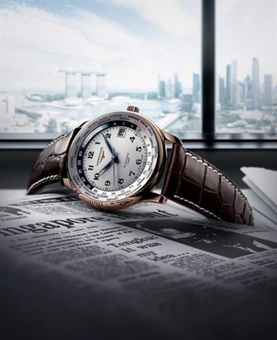 浪琴表推出名匠系列GMT世界时新加坡纪念限量腕表