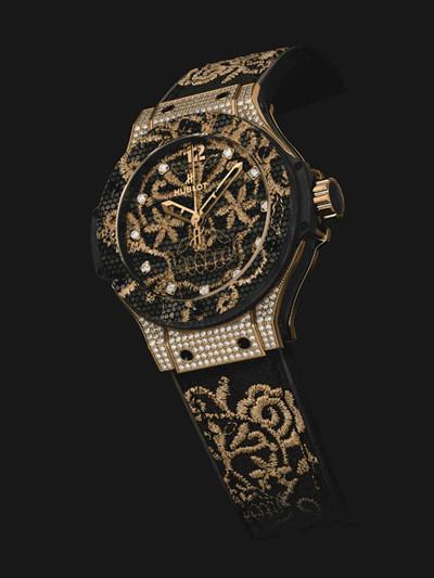 印证融合的艺术 宇舶表推出全新Big Bang刺绣腕表