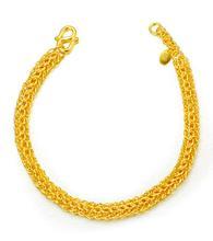 老庙黄金手链怎么挑款式图片