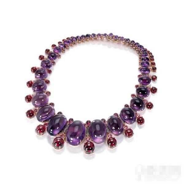 艳紫情深珠宝设计 De Grisogono情人节系列