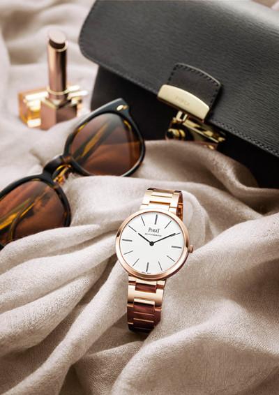 伯爵推出超薄Altiplano金质链带腕表