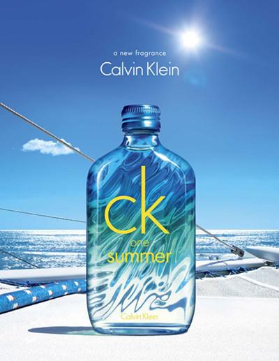CK推出One Summer 2015夏日限量版中性淡香水
