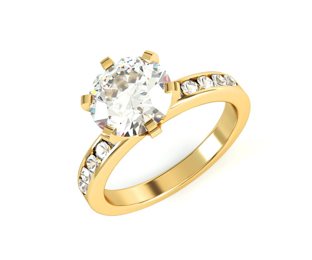 黄金钻戒价格_黄金钻石戒指价格-金投黄金网