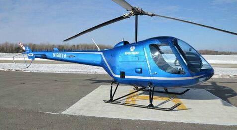 恩斯特龙th180私人直升机成功完成首次飞行