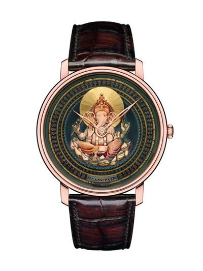 宝珀推出全新Shakudō赤铜雕绘腕表