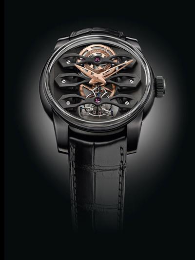 GP芝柏表推出全新极黑钛陀飞轮腕表
